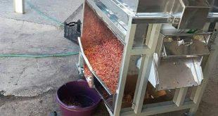 تولید کننده انواع دستگاه دانه گیر انار